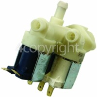 Hoover Cold Water Triple Solenoid Inlet Valve : 2x180Deg. 1x90Deg. & 12 Bore Outlets