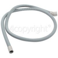Hoover DDY 062-AUS 2mtr. Drain Hose 17mm End With Slight Angle End 30mm, Internal Dia.s'
