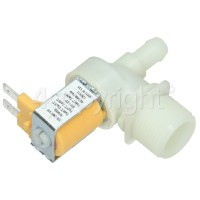 Hoover Cold Water Single Solenoid Inlet Valve : 90Deg. With12 Bore Outlet