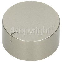 Hoover Hob Burner Control Knob - Silver