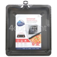 Hoover Universal Adjustable Baking Tray - 33CM Wide X 37 To 52CM Length (330MM X 370MM Extending To 520MM
