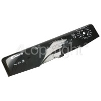 Hoover Control Panel Fascia Assembly - Black