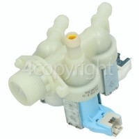 Hoover Cold Water Triple Inlet Solenoid Valve : ONE 90Deg. Two 180Deg. With 12 Bore Outlets