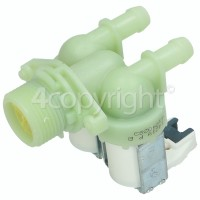 Hoover Cold Water Double Solenoid Inlet Valve : 180Deg. With Bore: 11.5 Bore Outlets & Protected (push) Connectors