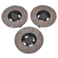 Hoover F2700 Z5 Wax & Clean Polishing Pads - Pack Of 3