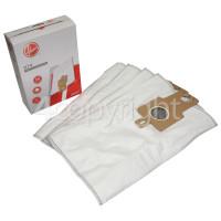 Hoover Vacuum Cleaner H74 Mircofibre Dust Bags (Pack Of 4)