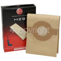 Hoover F2700 H29 Paper Bags (Pack Of 5)