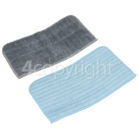Hoover AC21 Textile Washable Microfibre Pad (Pack Of 2)