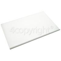 Hoover Fridge Glass Crisper Shelf Assembly : 460x290mm