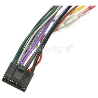 JVC ISO Speaker/Power Cable Assy