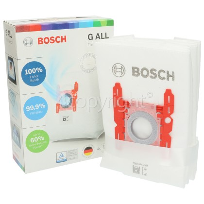 Bosch Synthetic Dust Bag (Type G) - Pack Of 4