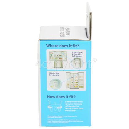 Samsung HAFIN2/EXP Internal Water Filter Cartridge