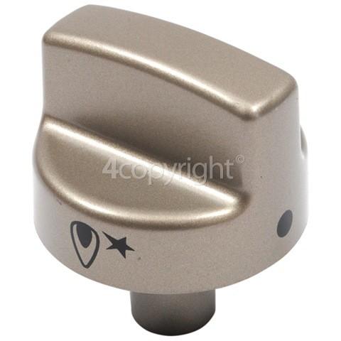 Delonghi Cooker Burner Control Knob - Gold