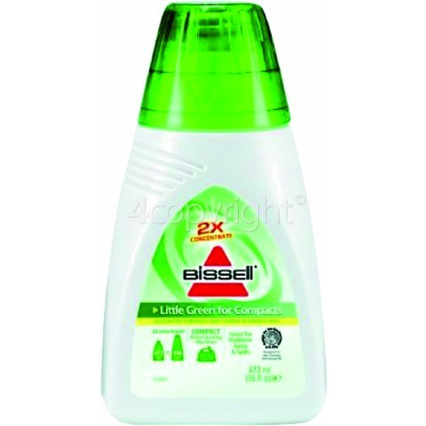 Bissell 2X Concentrate Little Green For Compacts