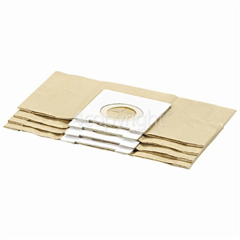 Delonghi Paper Bag & Filter Kit (Pack Of 5)