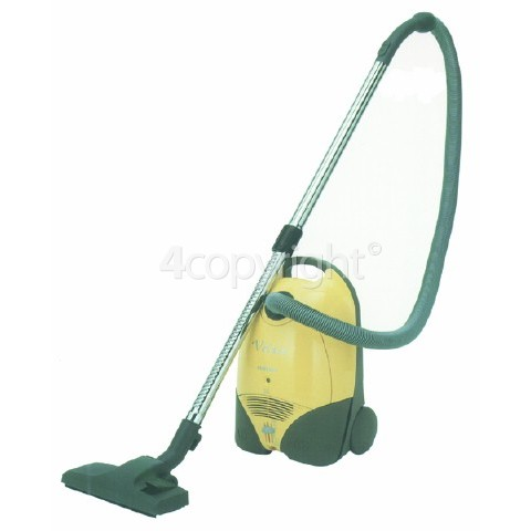 Samsung Obsolete Samsung VC7413 Cyl Vacuum Cleaner 1300W Stretch Hose Tools Clean Air Filter Cord Rew.