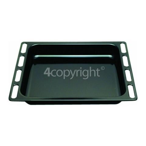 Ariston 7OFK637JKRUHA Oven Tray - Deep / Black 446X364X56mm
