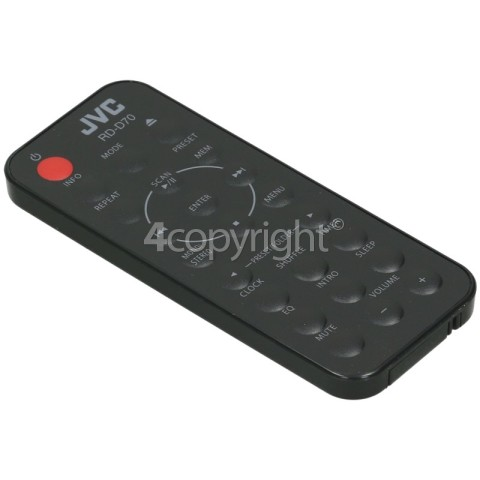 JVC RD-D70 Hi-Fi Remote Control