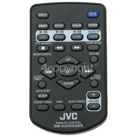 JVC RMSUXSG5BR Remote Control