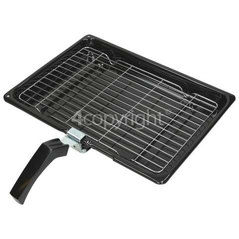 Ariston Universal Grill Pan Complete - 380 X 280 X 40mm