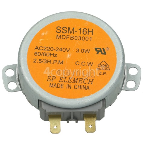 Samsung Motor AC Drive Turntable : SSM-16H MDFB03001