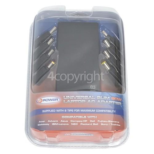 Sharp Universal Laptop AC Adaptor - UK Plug