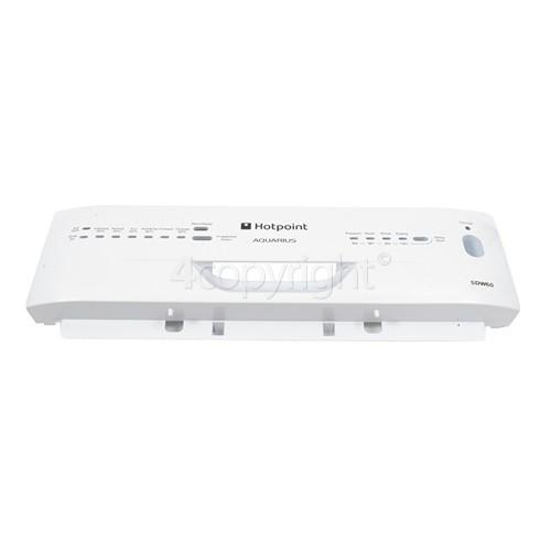 Hotpoint Control Panel Fascia - White