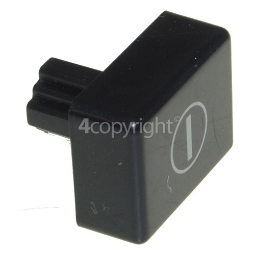 Hoover On / Off Push Button - Black