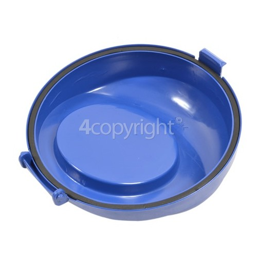 Bissell Easy Vac Compact 40N8E Dust Tank Lower Lid Blue