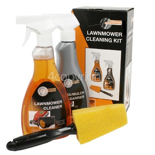 Universal Powered By McCulloch Lawnrake Compact 340 Lawnmower Cleaning Kit