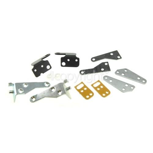 Rangemaster 6240 110 Ceramic Electric PH Oven Door Hinge & Support Bracket Kit
