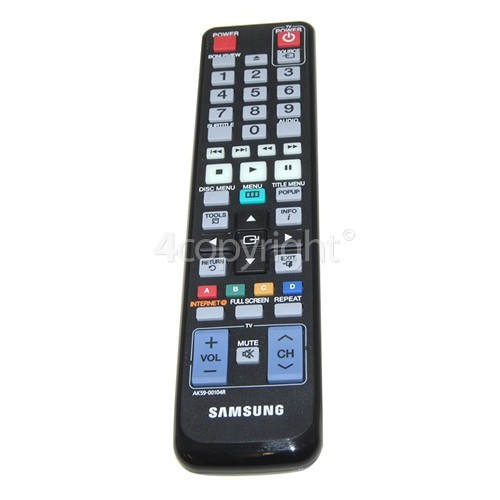 Samsung BD-C5900 No Longer Available Remote Control
