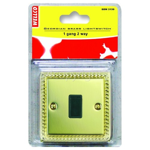 Wellco 1 Gang 2 Way Light Switch