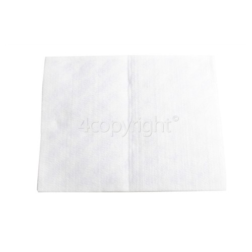Universal Vacuum Cleaner Micro Filter : 255x205mm (Cut To Size)