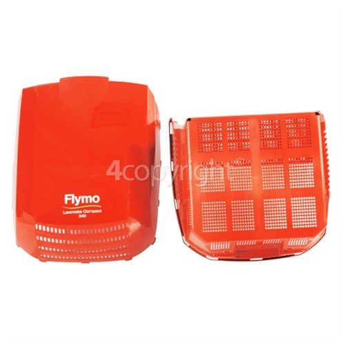 Flymo Lawnrake Compact 340 Collection Box Assembly