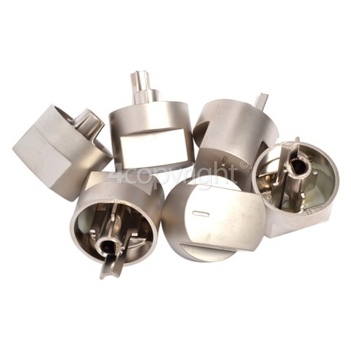 Stoves Control Knob Kit - Pack Of 6 (4 X Hob & 2 X Oven)