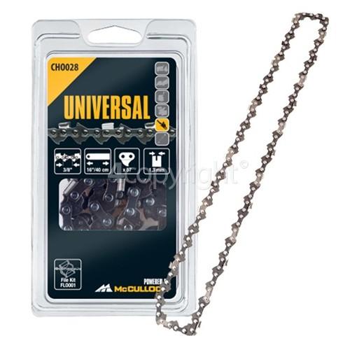 "Flymo CHO028 40cm (16"") 57 Drive Link Chainsaw Chain"