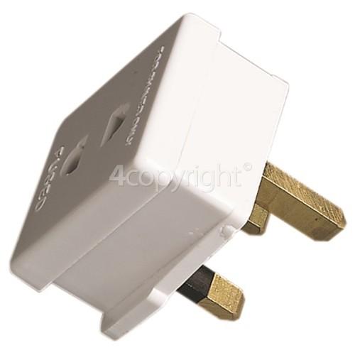 Wellco Plug-In Shaver/Toothbrush Adaptor