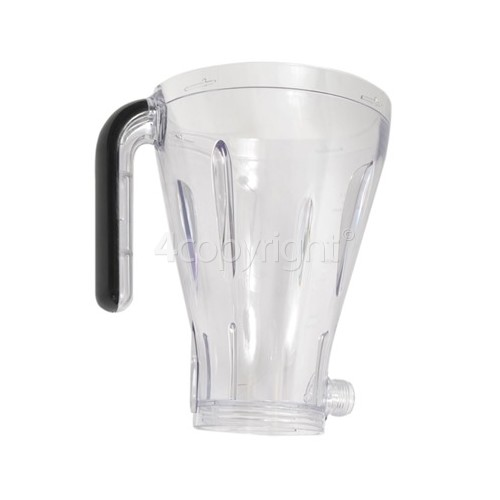 Kenwood SB266 Acrylic Blender Goblet - Black Trim