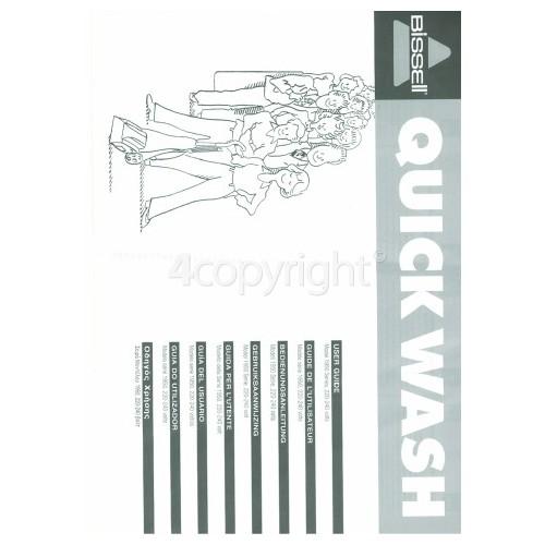 Bissell QuickWash LightWeight 1950E User Manual