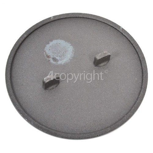 Whirlpool 001.234.78 HB G24 S Small Burner Cap With Two Flat Lugs 52MM Dia.
