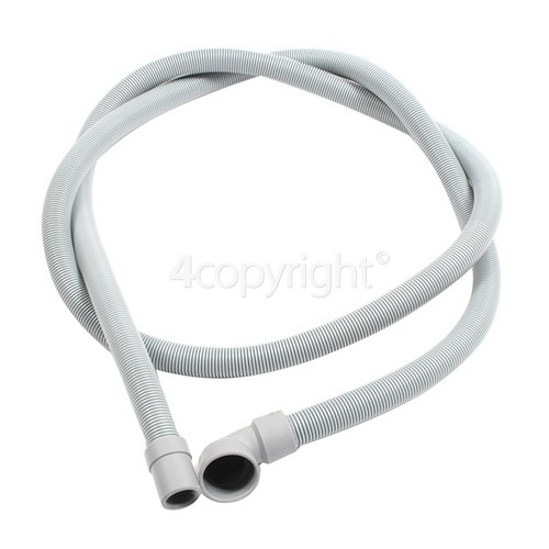 Hotpoint 2. 14M Drain Hose 19mm End With Right Angle End 30mm, Internal Dia.s'