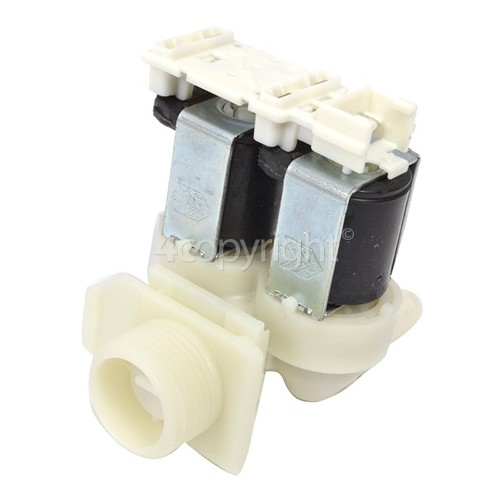 Bosch Cold Water Double Solenoid Inlet Valve : 180Deg. With 10.5 Bore Outlets