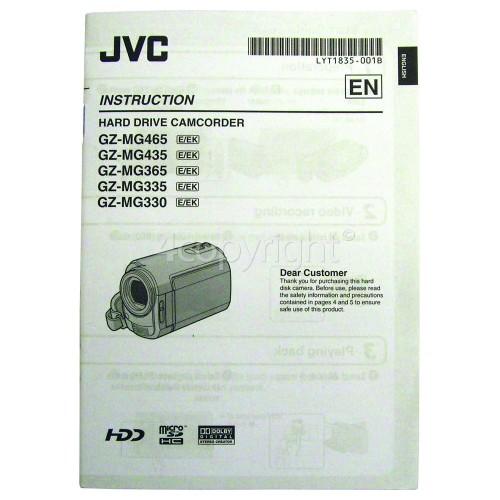 JVC Instruction Book