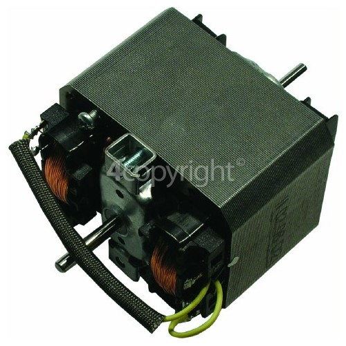 Rangemaster 6306 CH120 Electric black/brass badge and rail from serial number 100001 Motor Fan