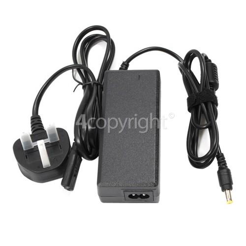 Sharp Laptop AC Adaptor / Battery Charger - UK Plug : Output 19V 350mAh
