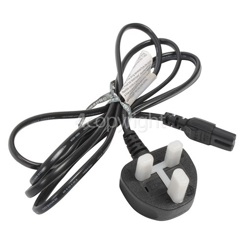 Samsung T24E310EX Mains Cable - UK Plug