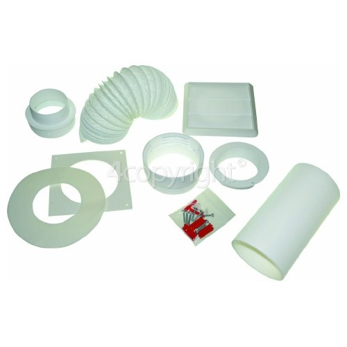 Caple Round Vent Kit