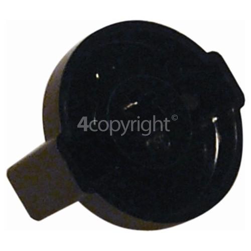 Candy Gas Hob Control Knob - Black