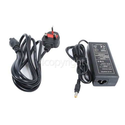 JVC LCD TV AC Adaptor - UK Plug